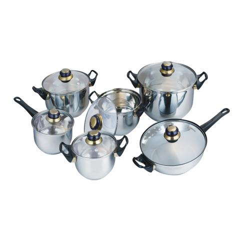 Bater a de cocina 12 piezas acero inoxidable amazing cookwar en mercado libre - Bateria de cocina solingen 12 piezas ...