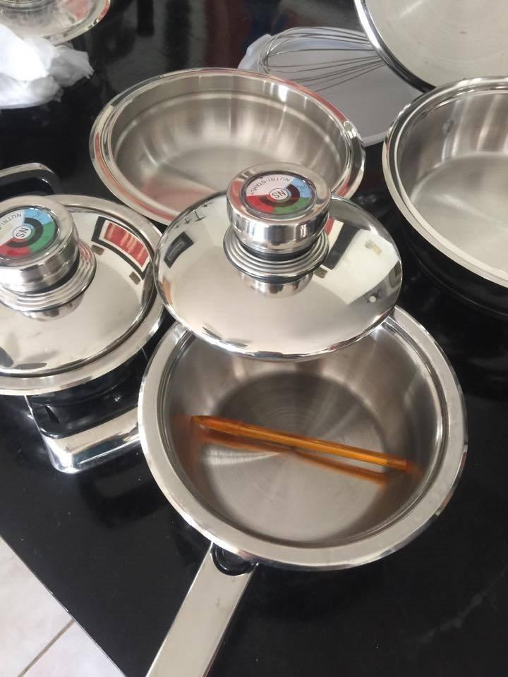 Bateria de cocina acero grado quirurgico 6 en - Grado en cocina ...
