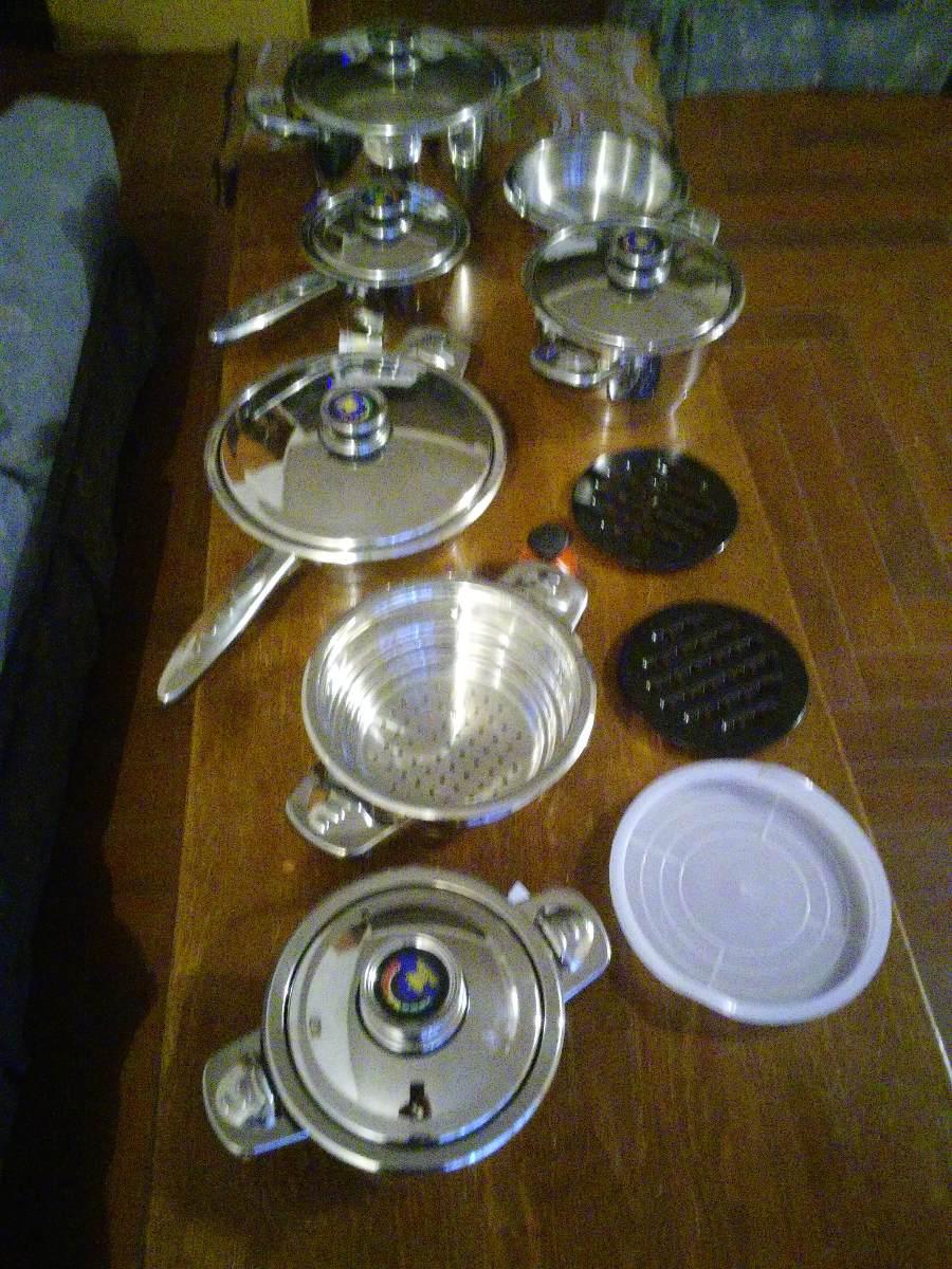 Bateria de cocina acero quirurgico 16 piezas 7 for Bateria de cocina alemana