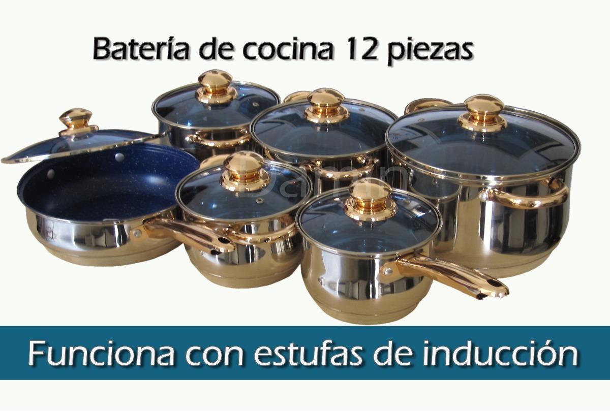 Bateria de cocina damin acero inoxidable 12 piezas 1 en mercado libre - Bateria de cocina solingen 12 piezas ...