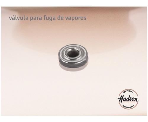 bateria de cocina hudson antiadherente ceramico  5 piezas