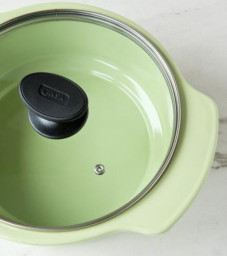 batería de cocina línea cocinova 6 piezas cinsa