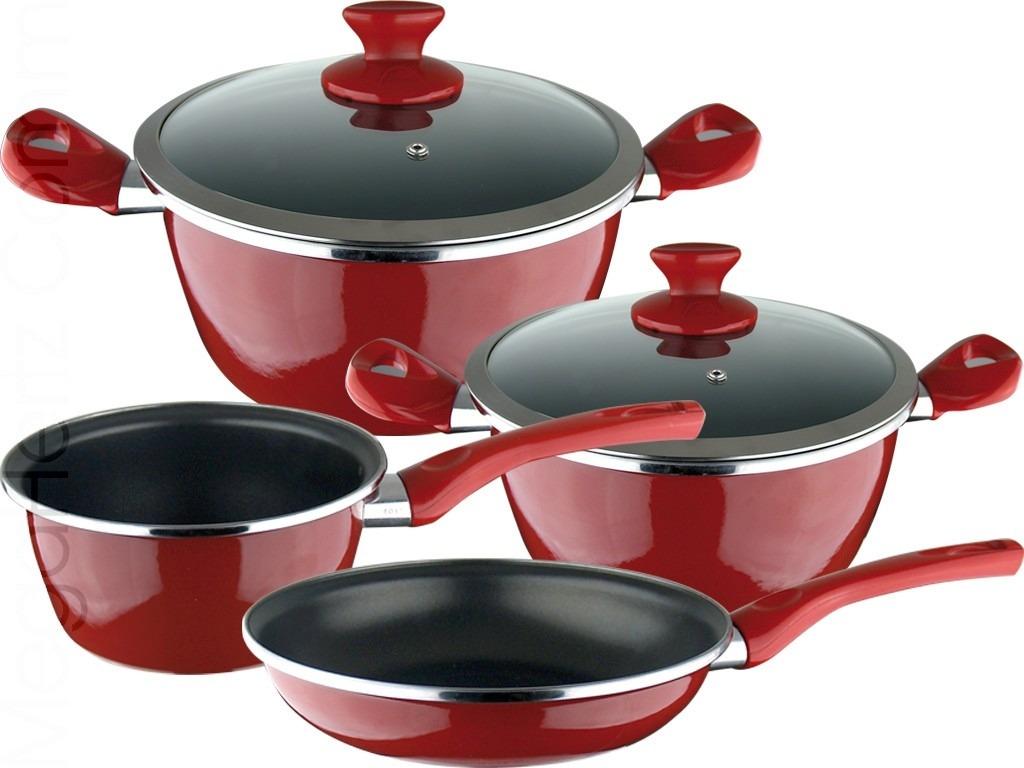Bater a de cocina magefesa antiadherente 6 piezas modelo for Pilas de cocina