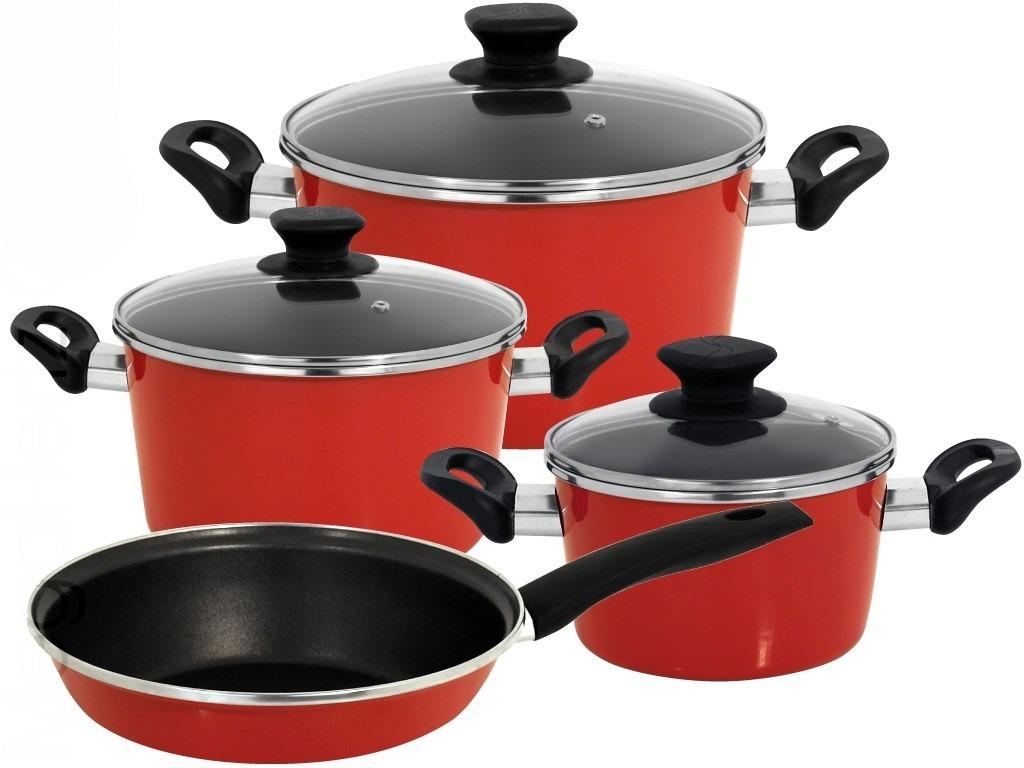 Bater a de cocina magefesa antiadherente 7 piezas mod coral u s 205 00 en mercado libre - Bateria de cocina solingen 12 piezas ...