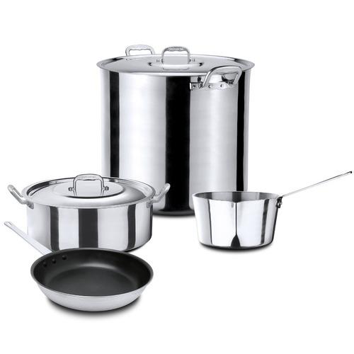 batería de cocina vasconia profesional acorazada 6 pzas.