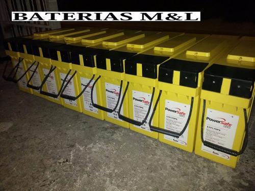 bateria de gel o seca power safe de 170 ah - 12v