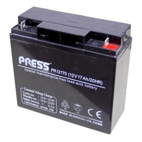 Bateria De Gel Recargable 17 Amper 12 Volts Marca Press