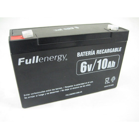 Bateria De Gel Recargable 6v 10ah Autitos Juguetes Coche