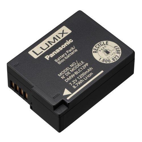 batería de iones de litio panasonic dmw-blc12 para panasonic