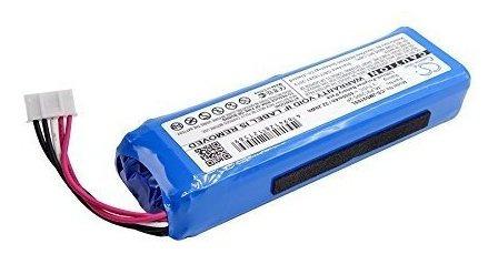 bateria de litio 6000mah para jbl charge 2+, charge plus, se
