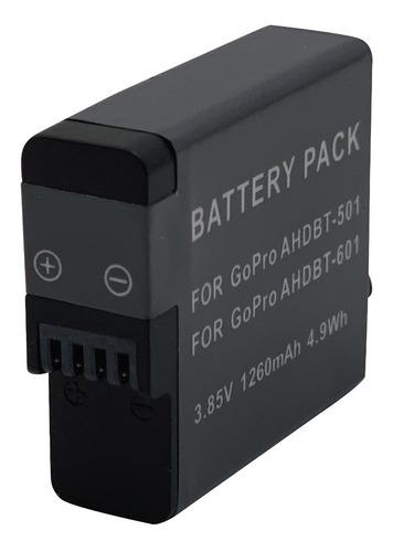 bateria de litio para camara gopro 5/6/7/8 ahdbt501 tecnovip