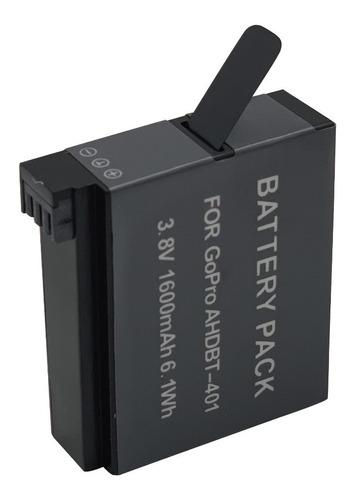 bateria de litio para gopro 4, 1600 mah, ahdbt401. tecnovip!