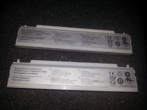 batería de mini laptop letra azul e10-4s2200-g1l3
