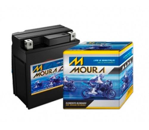 bateria de moto moura pop 100 / biz 125 ks / fan 125 es