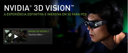 bateria de óculos 3d nvidia vision quit modelo 1