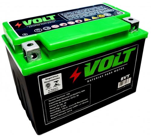 bateria de shadown 600 12v 8ah 6 meses de garantia