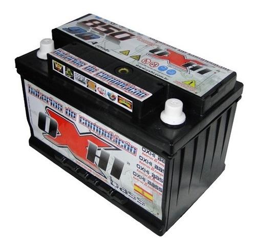 bateria de som oxhi bass 90ah/hora 850/pico + super brinde !