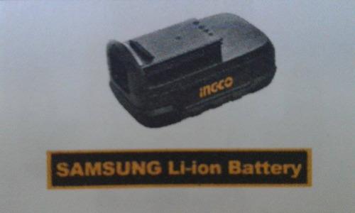 bateria de taladro li-on 18v marca ingco
