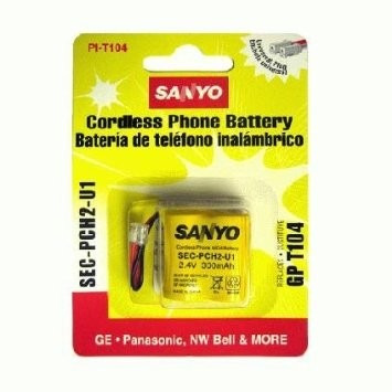 bateria de telefone recarregável sanyo sec-pch2-u1 gp t104