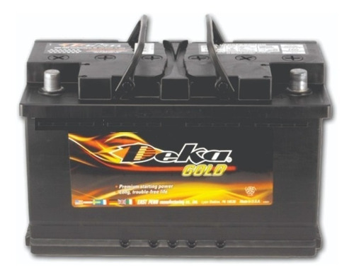 bateria deka 694rmf 12v 80ah bmw audi volvo
