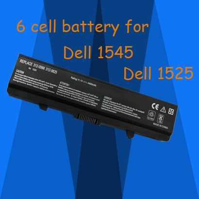 bateria dell 1525 de 6 celdas  5200mah nueva disponible