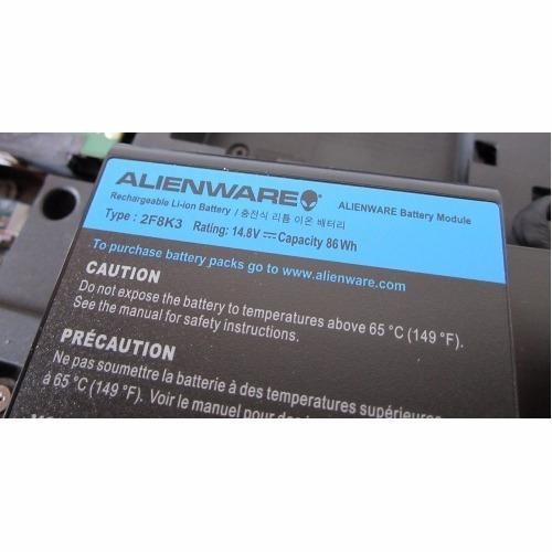 bateria dell  m18x m17x 17x 2f8k3  alienware r3