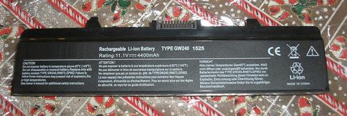 bateria dell primera marca x284g 6 celdas gtia nuevas