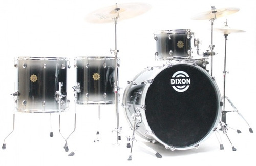 bateria dixon outlaw  12/14/16/24/14cx 100% maple