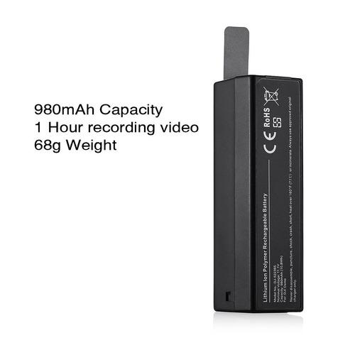bateria dji 980 mah pronta entrega x3, plus, mobile