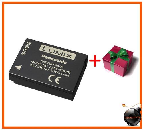 bateria dmw-bcg10e lumix dmc-zx1 zx1k zx1a zx1r zx1s zx1w