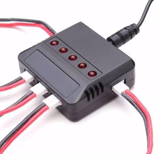 batería drone syma x5sw x5sc 600 mah 3.7 x 5 uni + cargador