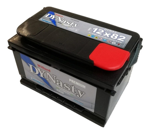 bateria dynasty by willard 12x82 instalada en el local