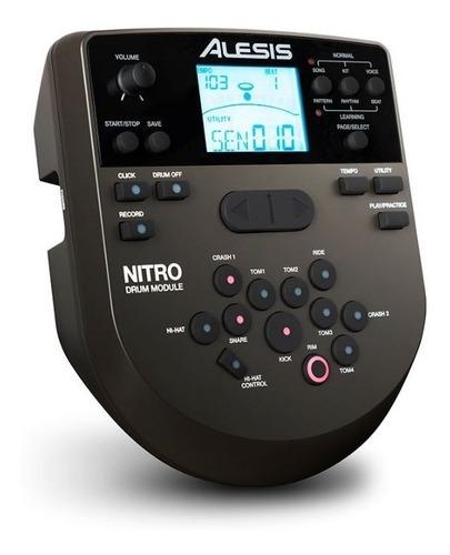 bateria electronica / electrica alesis nitro mesh kit nuevas