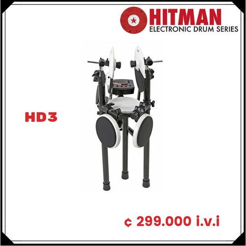 batería electrónica modelo hd 3 marca hitman