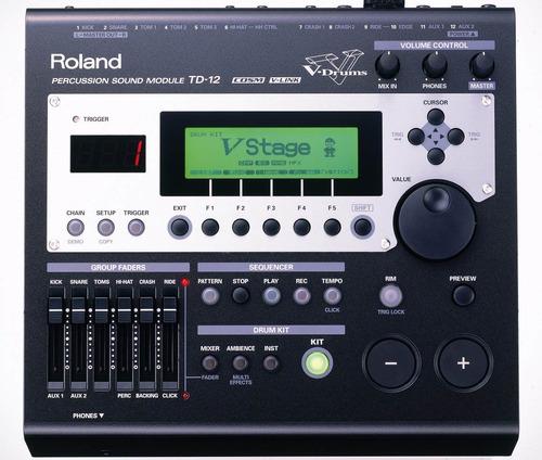batería electronica roland modelo td-12kx