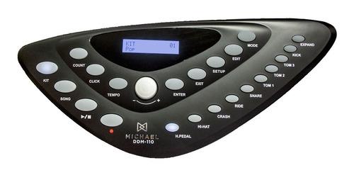 bateria eletrônica c/ 492 timbres / usb - ddm 110 michael