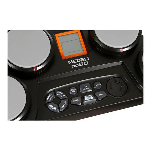 bateria eletrônica medeli dd-60