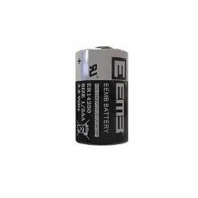 bateria emb er14250 3.6v / cr1/2aa er14250 com terminal