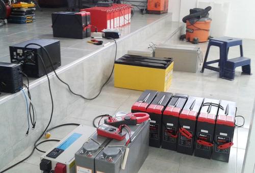bateria estacionaria descarga profunda 12v bateria de gel
