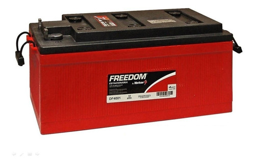 bateria estacionaria freedom df4001 240ah nobreak alarme som