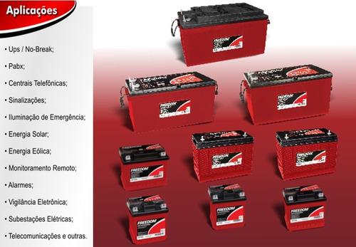 bateria estacionaria freedom df4001 240ah - promoção