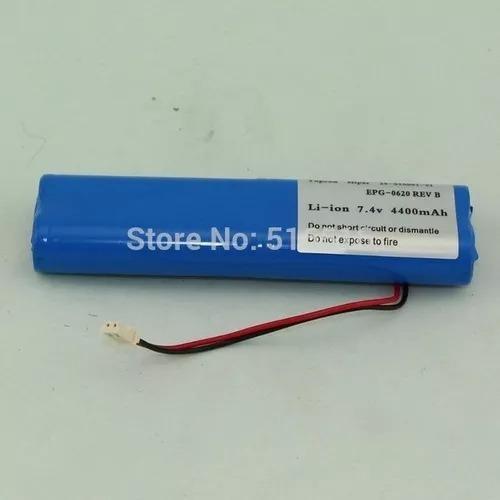 bateria estação total topcon hiper gps 7.4 v 5000mah lithium