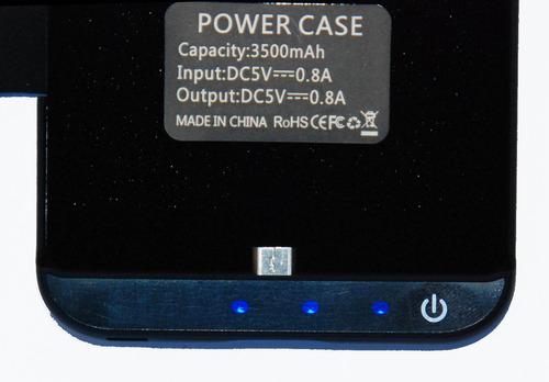 bateria estuche cargador protector power sony xperia z4 z3