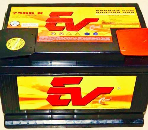 batería ev75f 12x 75 para auto