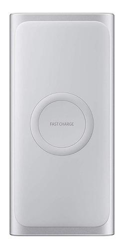 bateria ext. carga rápida wireless prata 10000 mah samsung