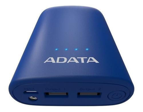 bateria externa para celular power bank adata 10050mah 2 usb