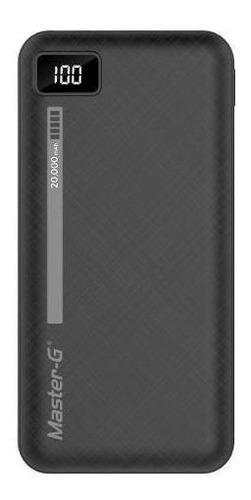 batería externa portátil power bank master g 20000 mah