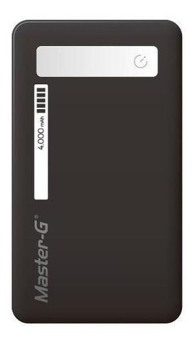 batería externa portátil power bank master g 4000 mah
