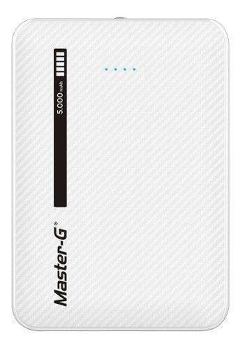batería externa portátil power bank master g 5000 mah