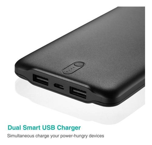 bateria externa power bank 50000 supera una de 20000 2x usb